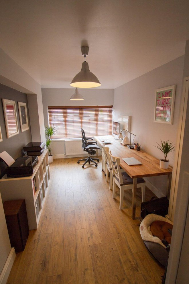garage-conversion-idea-office-home-business-working-wood