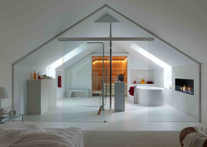 loft-conversion-bedroom-modern-glass-wall-bathroom