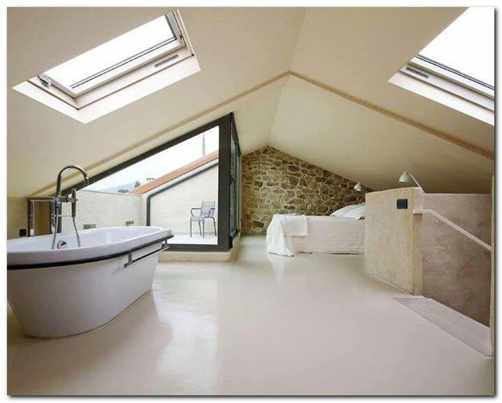 Loft Conversion Bedroom Modern Open Plan Milestone Loft