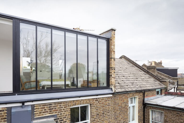 Loft Conversion Contemporary Glass Dormer Yorkshire