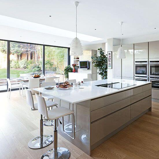 Open Plan Kitchen And Lounge: Get An Extension To Your Home